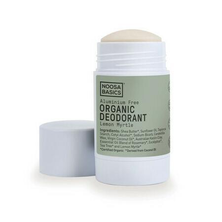 Image of Noosa Basics Deodorant Cream Stick - Lemon Myrtle - 60g
