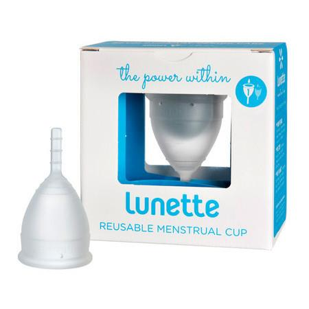 Image of Lunette Menstrual Cup - Clear - Model 1 - 25ml - Clear
