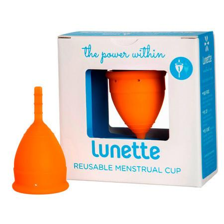 Image of Lunette Menstrual Cup - Coral - Model 1 - 25ml - Coral