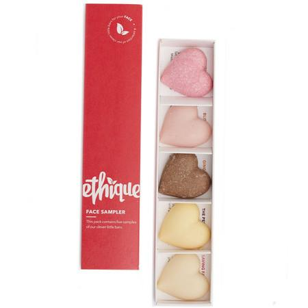 Image of Ethique Face Sampler - A Collection of Ethique Face Products - 5 Item Pack