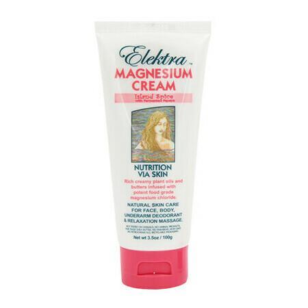 Image of Elektra Magnesium Cream - Island Spice - 300g Tub