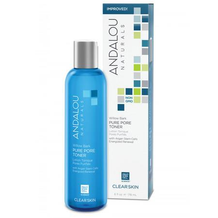 Image of Andalou Naturals Willow Bark Pure Pore Toner - *Clear Skin* 178ml