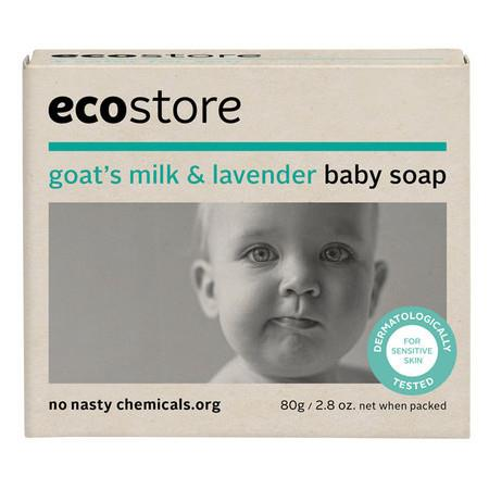 Image of Ecostore Baby Soap - 80g
