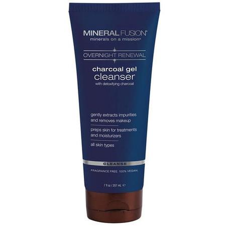 Image of Mineral Fusion Charcoal Gel Cleanser - 200ml