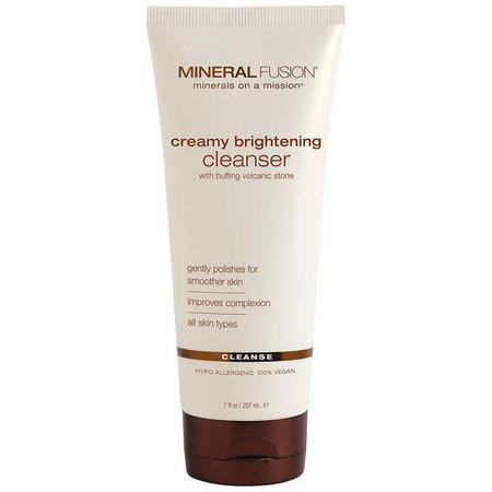 Image of Mineral Fusion Creamy Brightening Cleanser - 200ml