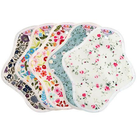 Image of hannahpad Organic Reusable Small Pad - Twin Pack - *Small* Twin Pack
