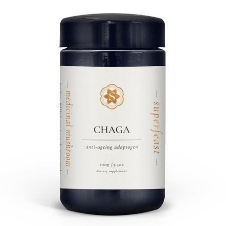 Image of SuperFeast Wild Chaga Mushroom Powdered Extract - 250g Bag