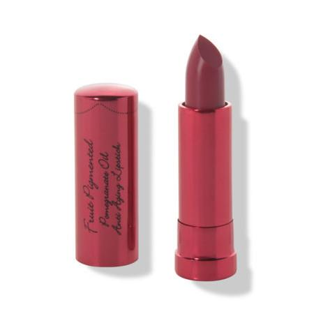 Image of 100% Pure Anti-ageing Pomegranate Lipstick - Black Rose - 4.5g