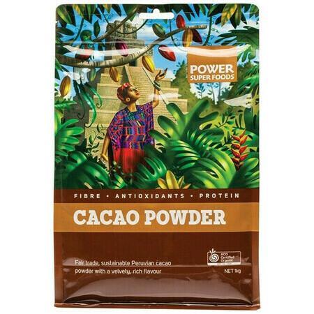 Image of Power Super Foods Cacao Powder - *Medium Bag* 250g