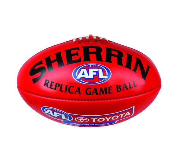 Sherrin Replica Game Ball Size 5 Leather