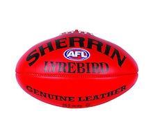 Sherrin Lyrebird Size 5 Full Grain Leather Ball