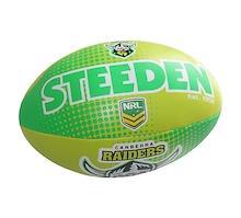 Steeden Canberra Raiders Sponge 6 Inch Ball