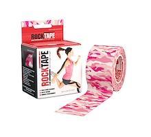 Rocktape 5cm x 5m Camouflage Pink