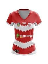 St George Dragons Ladies Alternate Jersey 2018