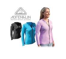 Adrenalin Ladies Front Zip Long Sleeve
