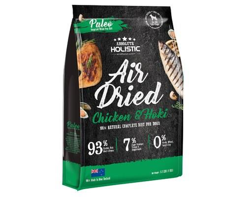 Image of Absolute Holistic Air Dried Dog Food - Chicken & Hoki 1kg