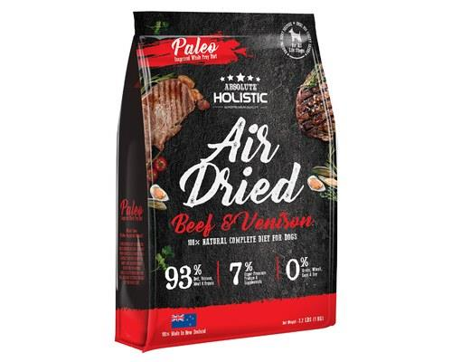 Image of Absolute Holistic Air Dried Dog Food - Beef & Venison 1kg