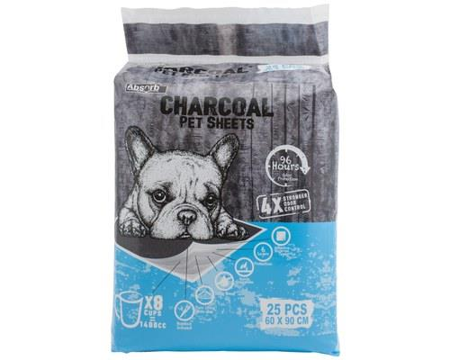 Image of Absorb Plus Charcoal Pet Sheets (90 X 60cm) 25 Pack