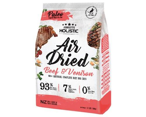 Image of Absolute Holistic Air Dried Cat Food - Beef & Venison 500gm