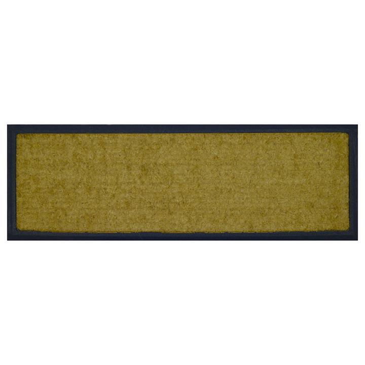 Barber Rubber Edged Coir Doormat, 120x40cm