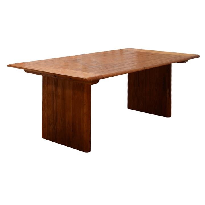 Amold Mountain Ash Timber Dining Table, 210cm