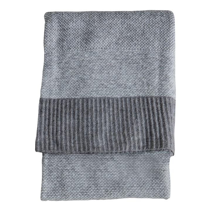 Tafia Knitted Wool Throw, 170x130cm
