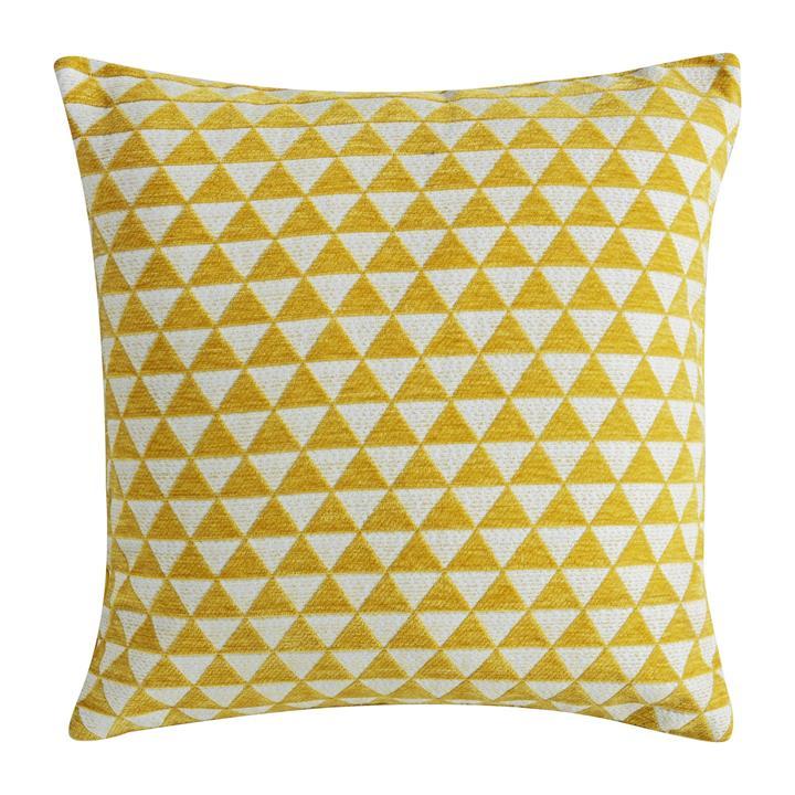 Jossi Jacquard Scatter Cushion, Ochre