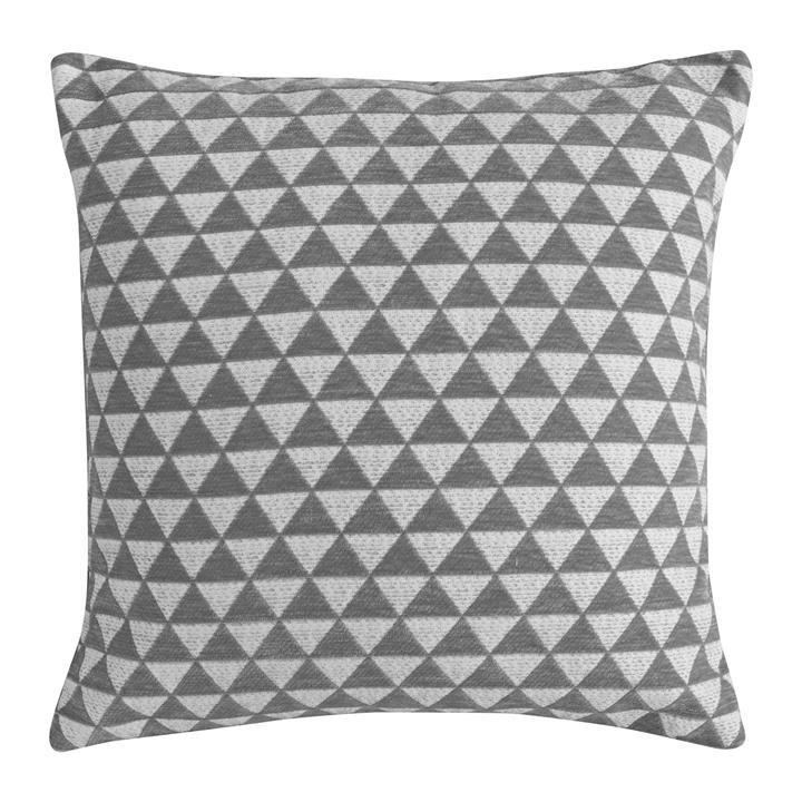 Jossi Jacquard Scatter Cushion, Grey
