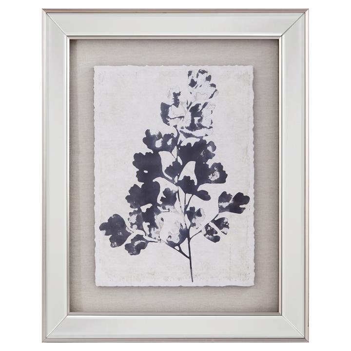 Aliesha Framed Wall Art Print, Oak Leaf, 50cm