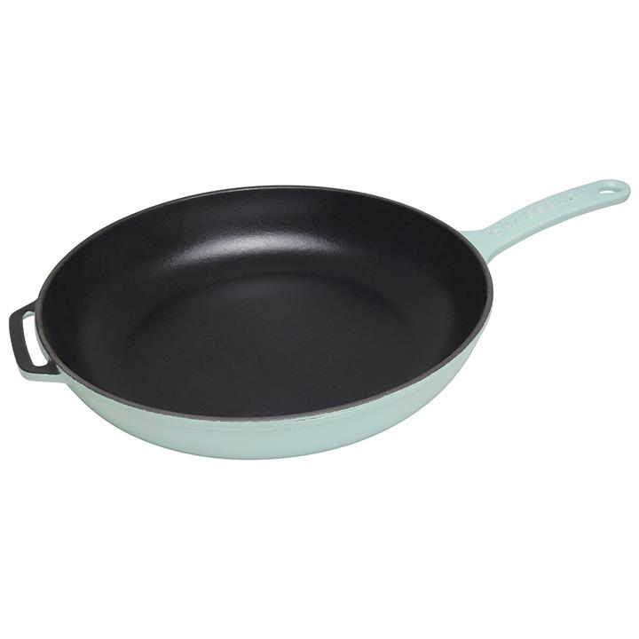 Chasseur Cast Iron Fry Pan, 28cm, Duck Egg Blue