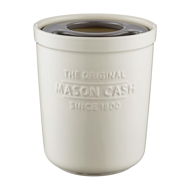 Mason Cash Ceramic 2-In-1 Utensil Pot, 1.8 Litre