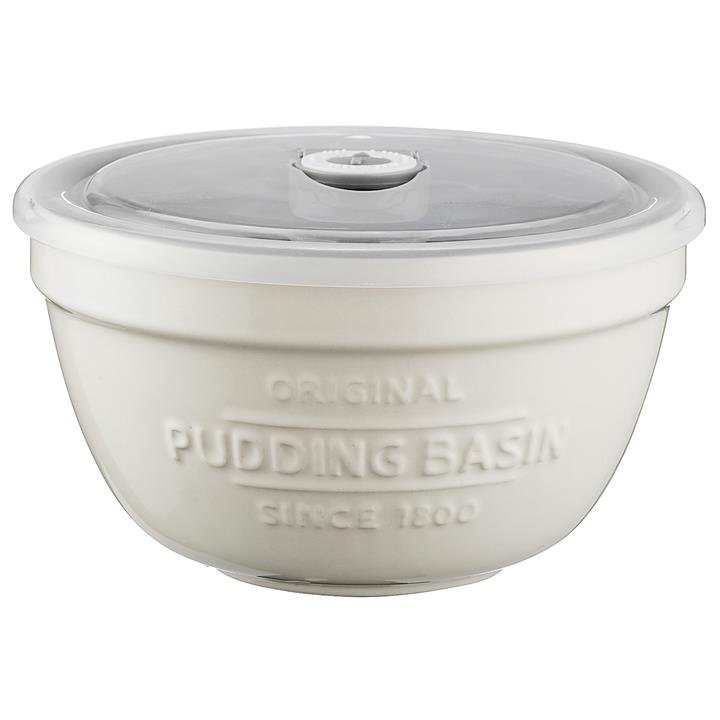 Mason Cash Ceramic Pudding Basin with Lid