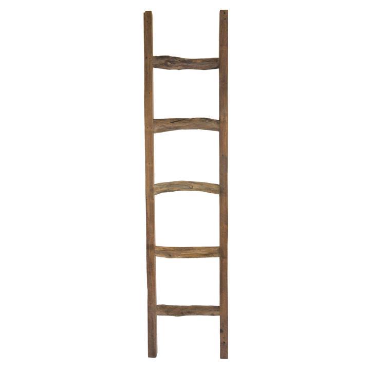 Tropica Driftwood Commercial Grade Reclaimed Teak Timber Ladder Rack