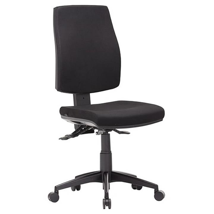 Click Fabric Task Office Chair, High Back