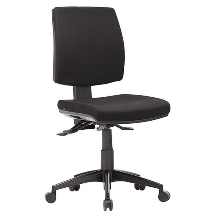 Click Fabric Task Office Chair, Low Back