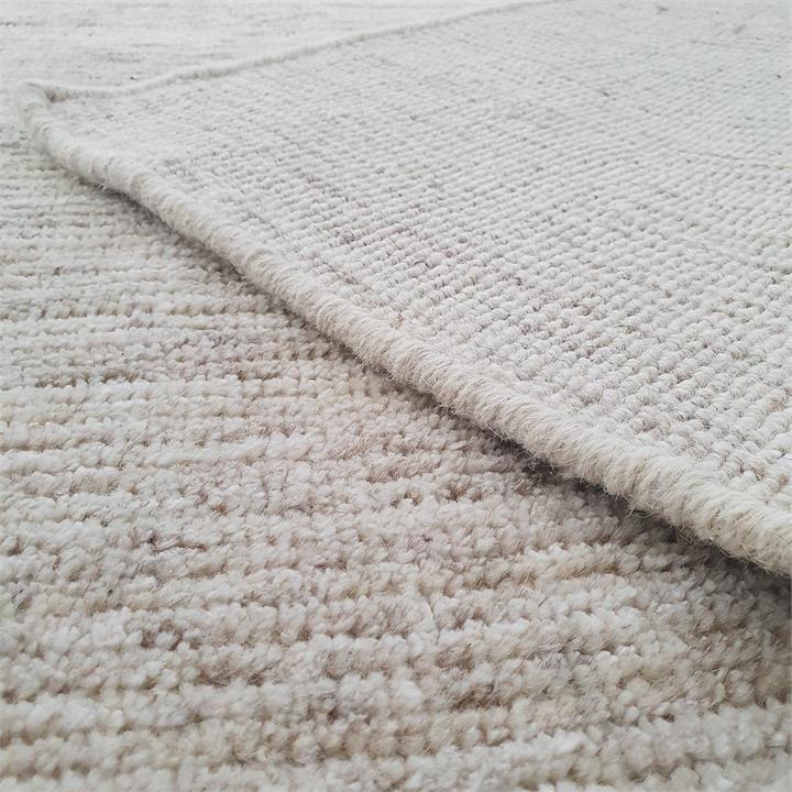 Ascot No.811 Handmade Wool Rug, 225x155cm, Caramel