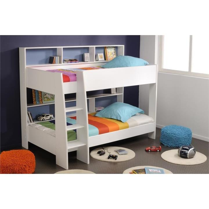 Latitude Bunk Bed, King Single, White