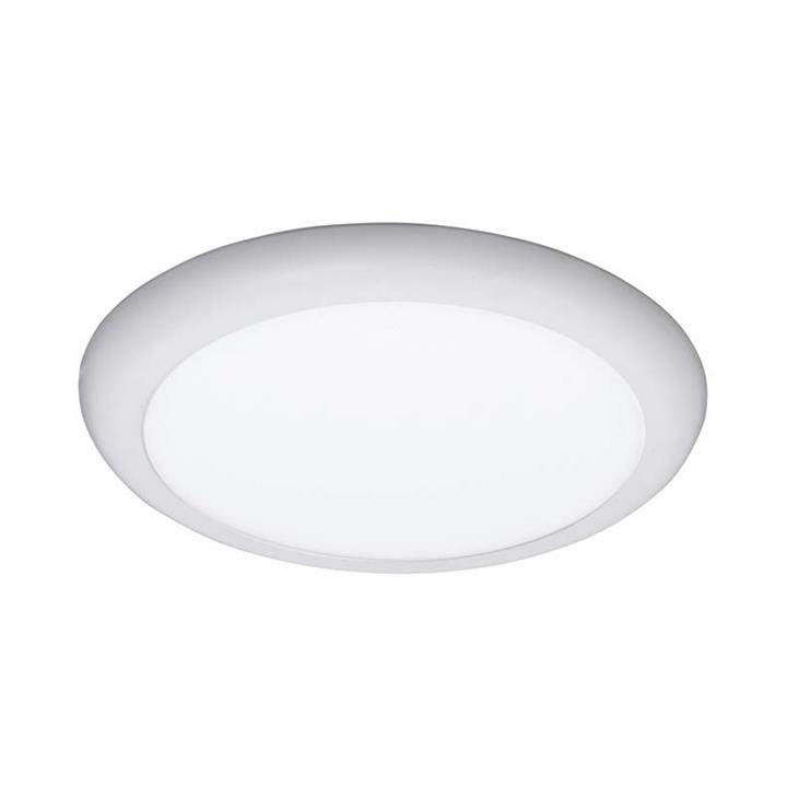 Aero LED Oyster Ceiling Light / Downlight, 5000K