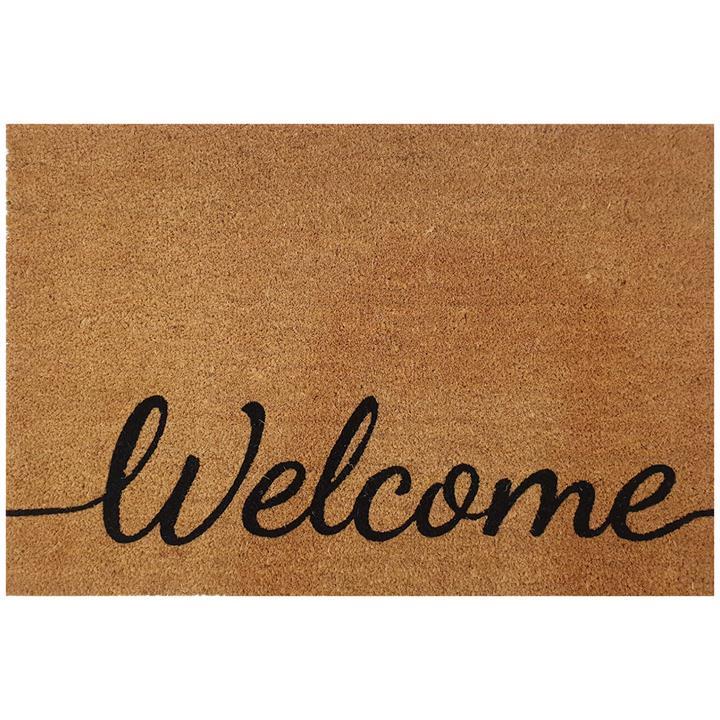 Baseline Welcome Coir Doormat, 89x58cm