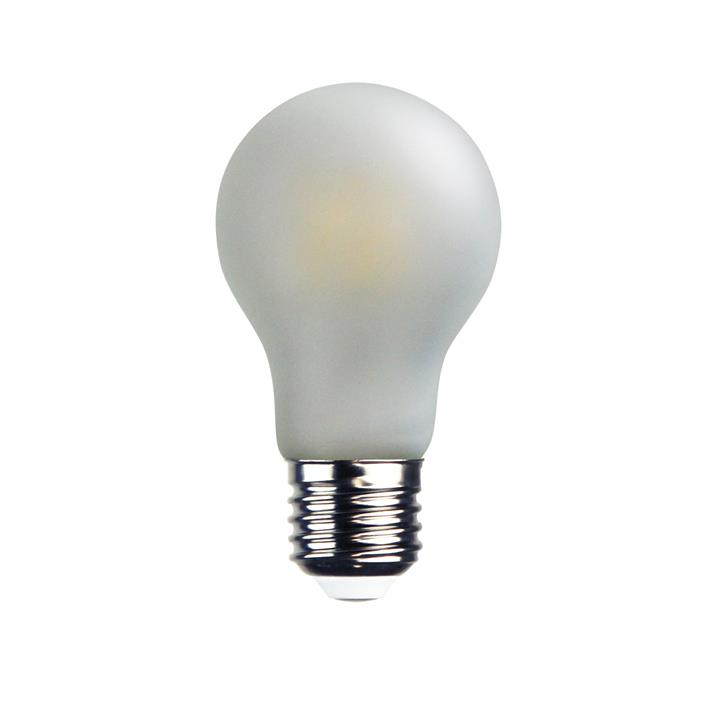 Allume A60 Dimmable LED Globe, E27, 6W, 4000K, Frosted White