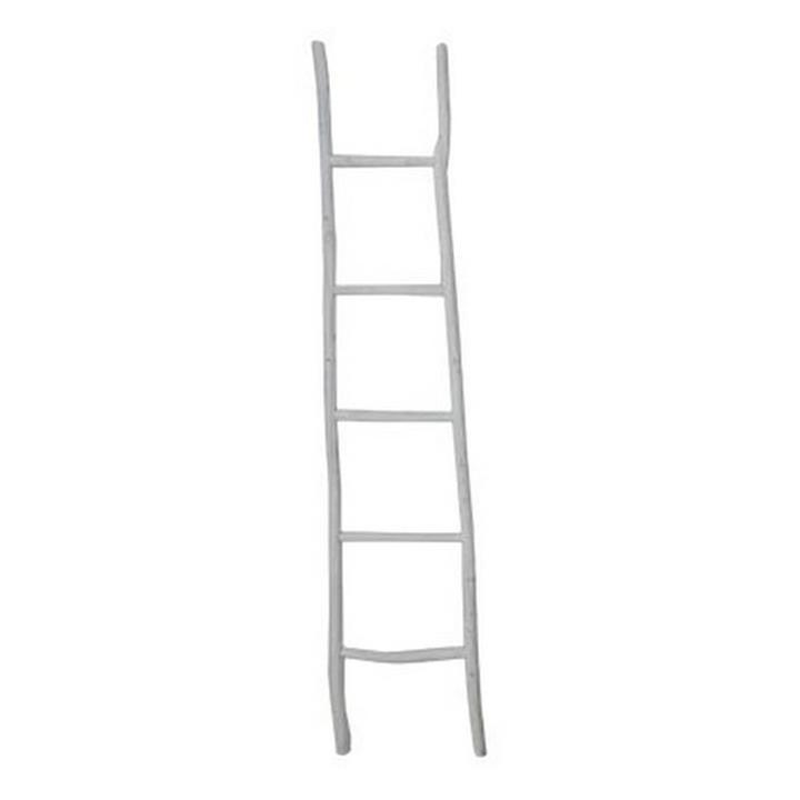Havre Chinese Oak Timber Decorative Ladder Rack