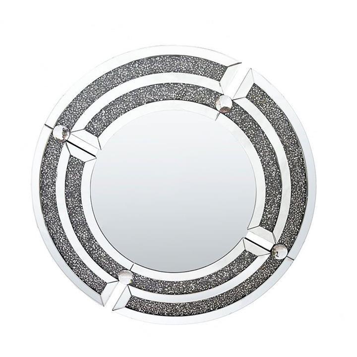Luxuria CC Round Wall Mirror, 80cm