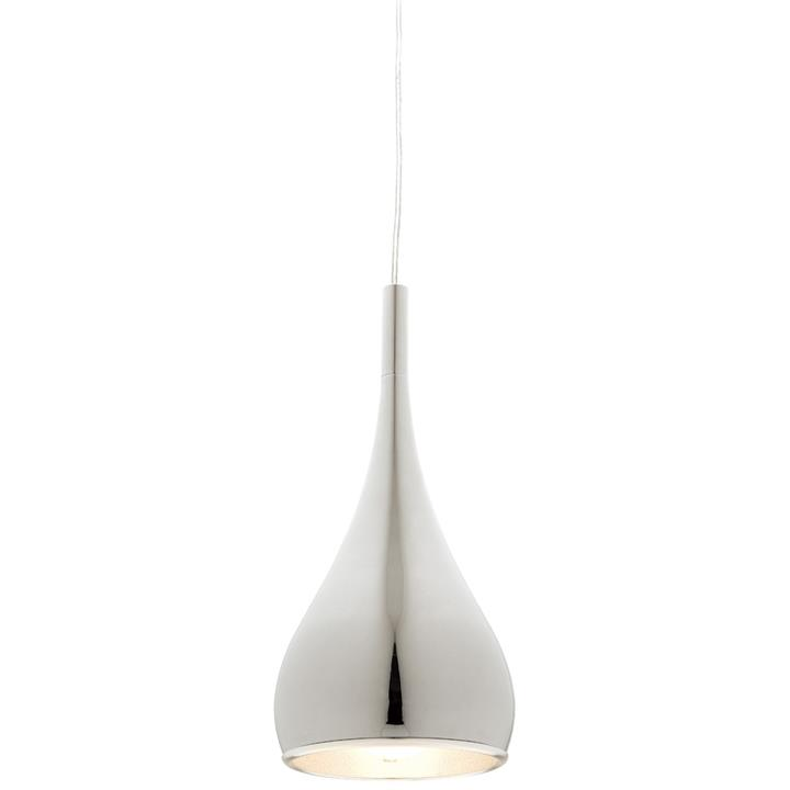 Aero Metal Pendant Light - Chrome