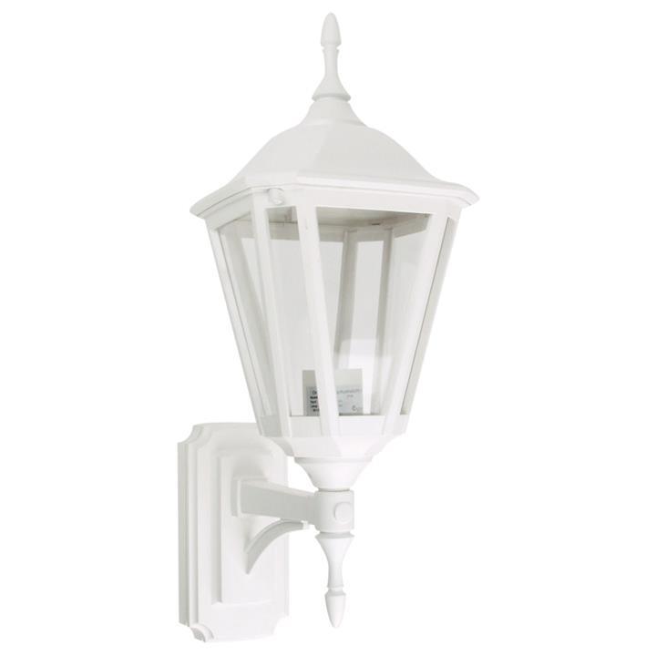 Java IP44 Commercial Grade Exterior Coach Light, White