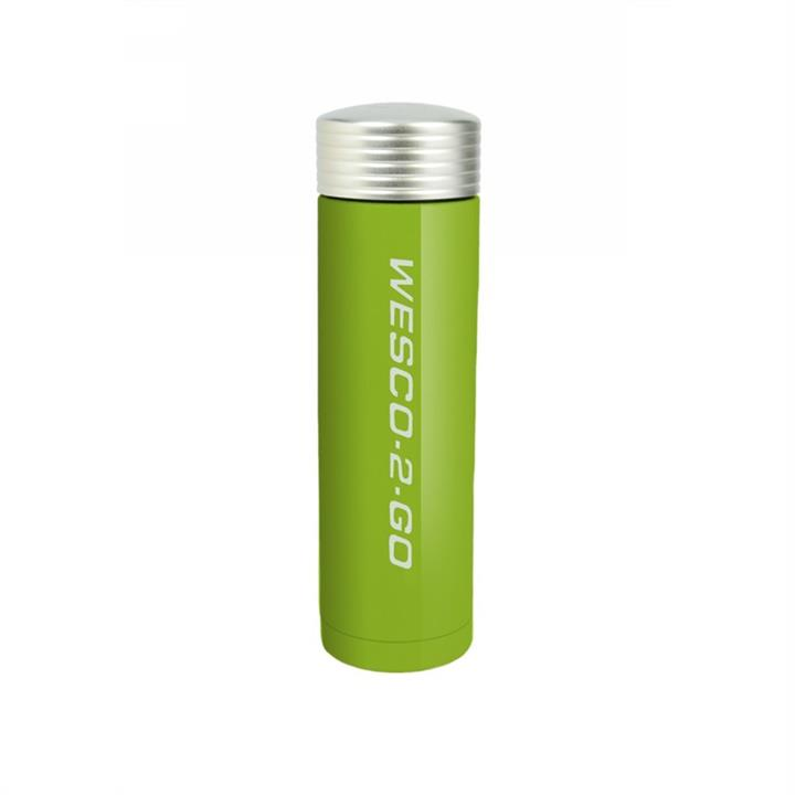 Wesco 350ml Stainless Steel Vacuum Flask for Hot and Cold Drinks - Lime Green