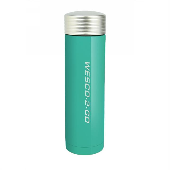 Wesco 450ml Stainless Steel Vacuum Flask for Hot and Cold Drinks - Turquoise