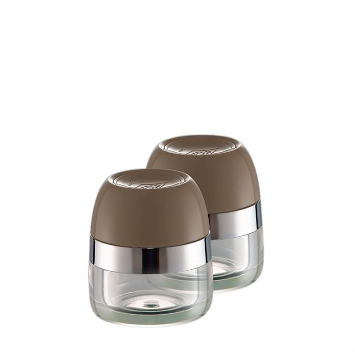 Set of 2 Wesco Spice Storage Canister - Warm Grey