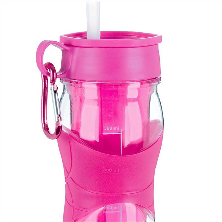 Trudeau 470ml Twin-wall Cool Off Hydration Bottle - Magenta