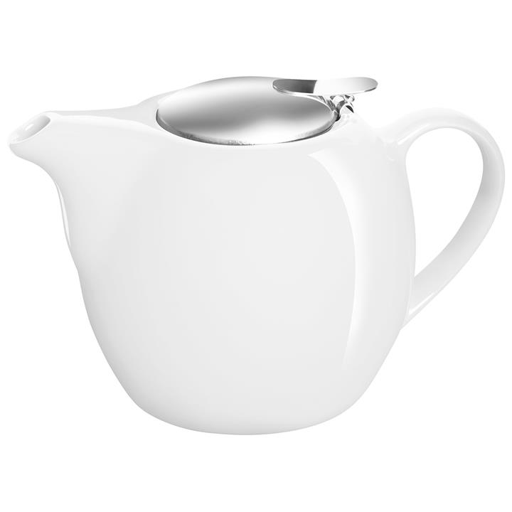 Avanti Camelia 750ml Ceramic Teapot - White