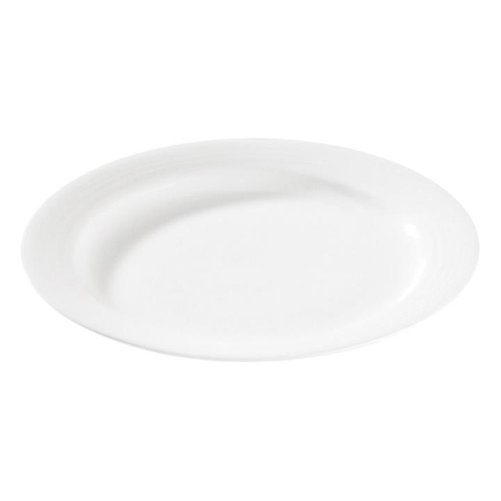 Noritake Arctic White Fine China Dinner Plate